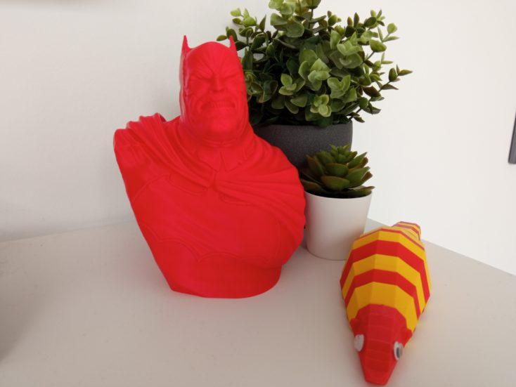 Redmi 9 Hauptkamera Testfoto Farben Rot