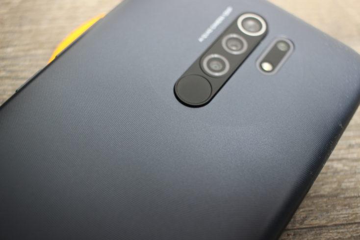 Redmi 9 Smartphone Verarbeitung
