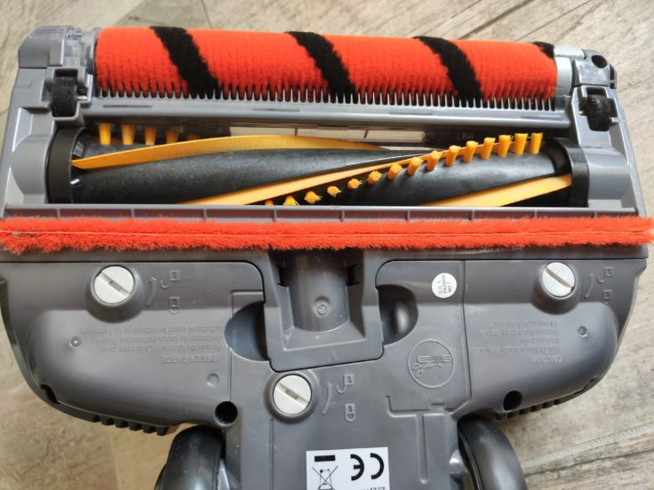 Shark IZ251EUT Anti Hair Wrap Akkustaubsauger Walzen Unterseite