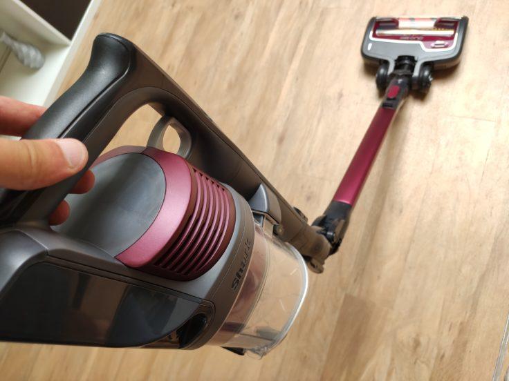 Shark IZ251EUT Anti Hair Wrap Akkustaubsauger Flexibilitaet