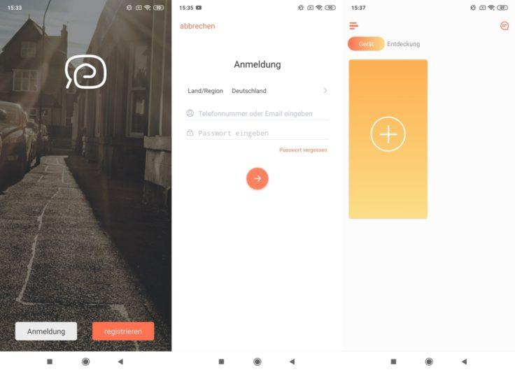 Simum 6 Saugroboter App Registrierung