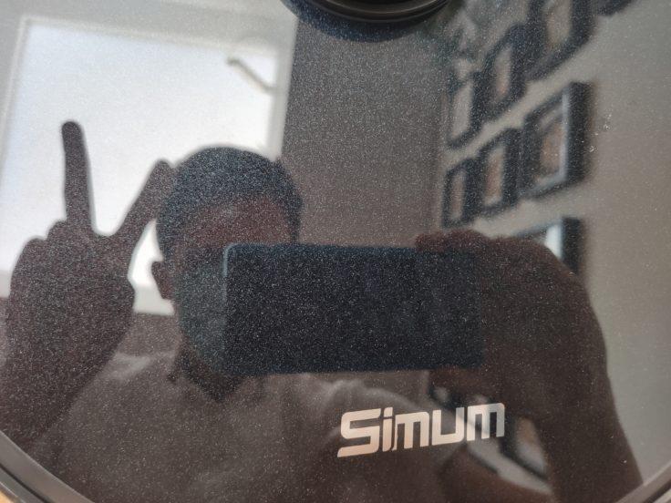 Simum 6 Saugroboter Design Logo