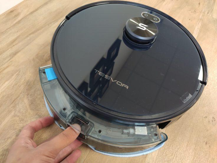 Tesvor S6 Saugroboter Wassertank Anbringung