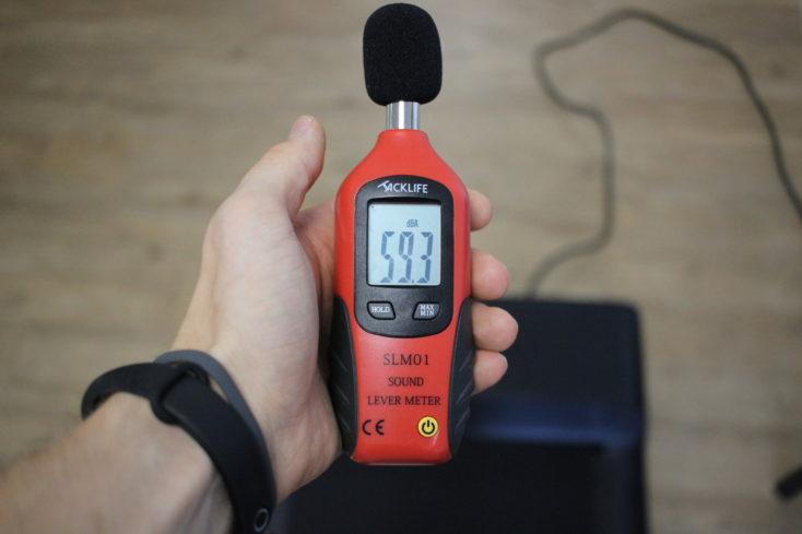 WalkingPad A1 Pro Dezibelmessung