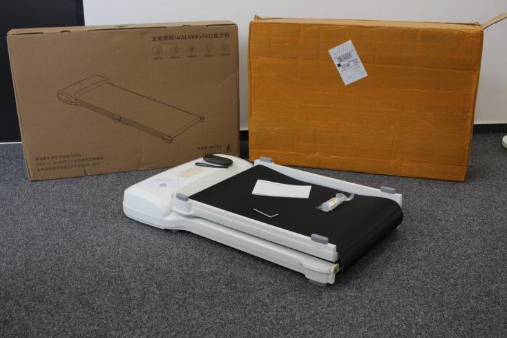 WalkingPad C1 Lieferumfang und Verpackung