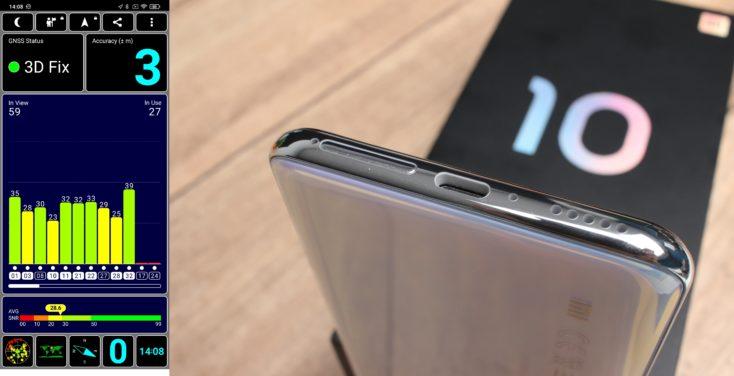 Xiaomi Mi 10 Lite 5G GPS Dual SIM USB C Mono Lautsprecher