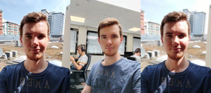 Xiaomi Mi 10 Lite 5G Selfies