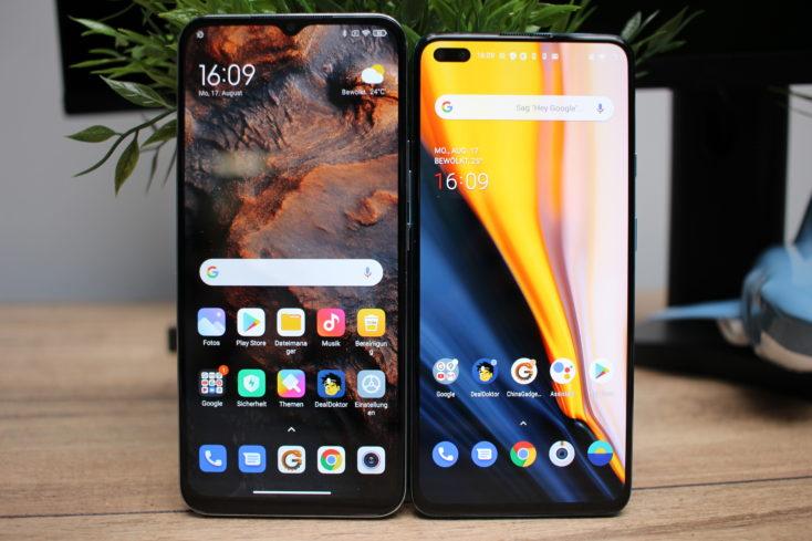 Xiaomi Mi 10 Lite 5G vs OnePlus Nord