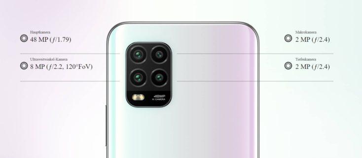 Xiaomi Mi 10 Lite Kameras