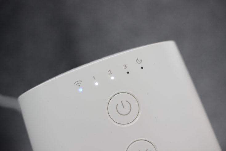 Xiaomi Mi Fan 1C Status LEDs