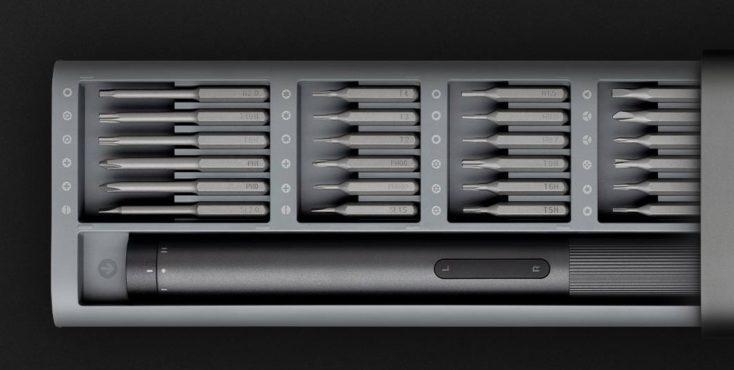 Xiaomi elektrisches Schraubendreher-Set Aufsaetze