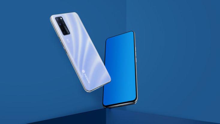 ZTE Axon 20 5G Smartphone Design