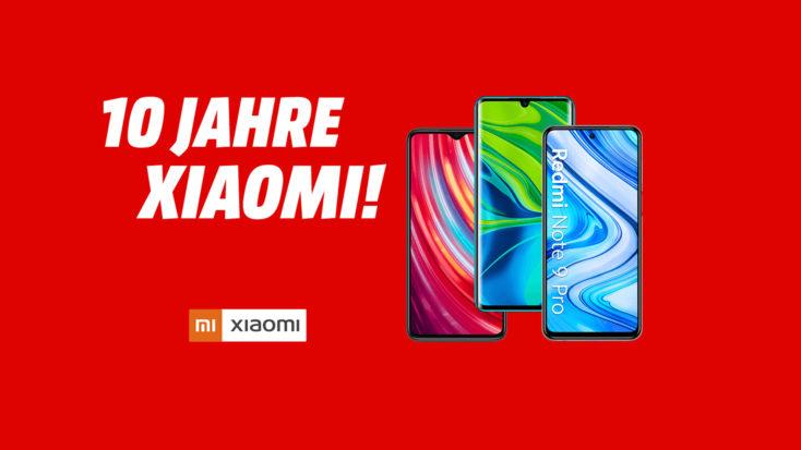 10 Jahre Xiaomi Aktion Rabatt