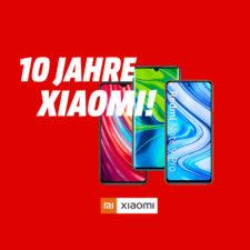 10 Jahre Xiaomi Rabatt Aktion Beitrag