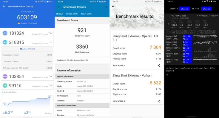 Asus ROG Phone 3 Benchmarks