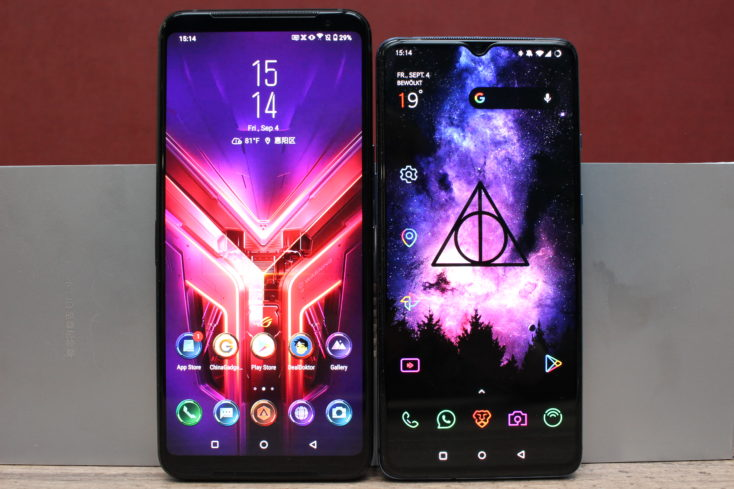 Asus ROG Phone 3 vs OnePlus 7T