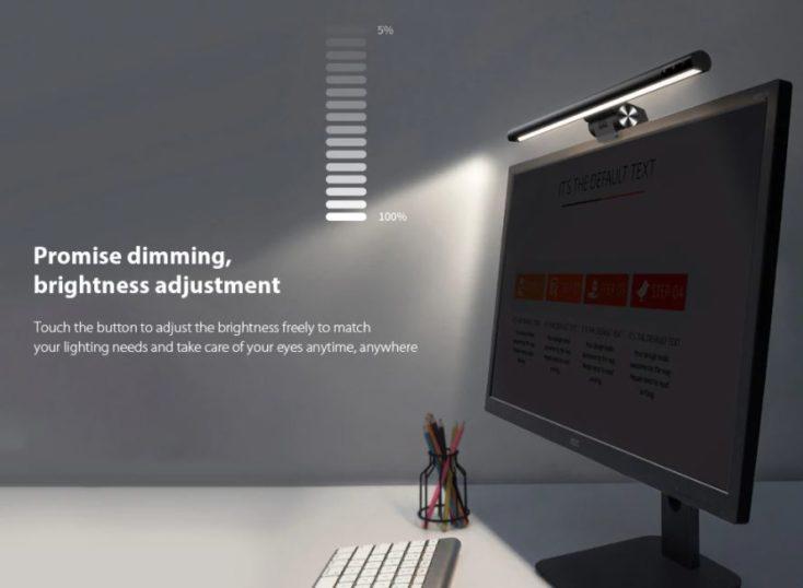Baseus Monitorlampe dimmen