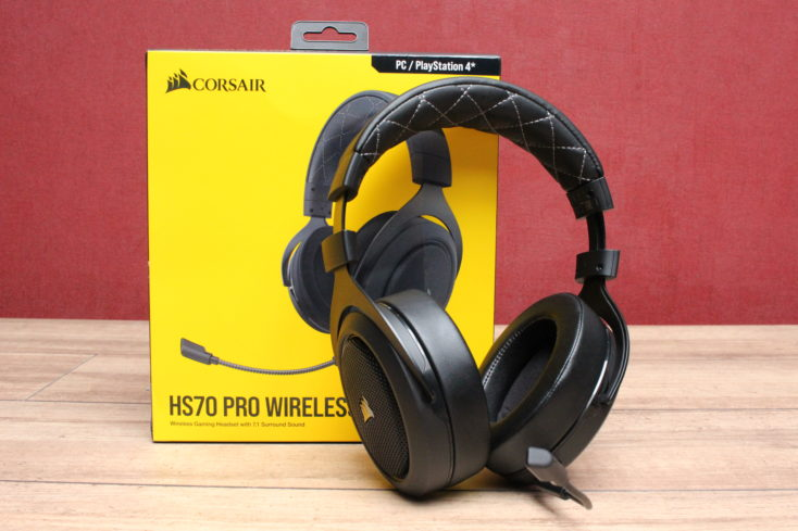 Corsair HS70 Pro Headset mit Verpackung