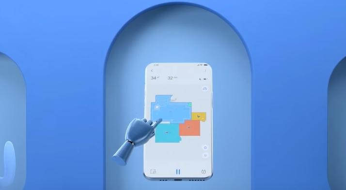 Dreame D9 Saugroboter App