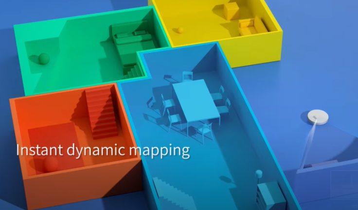Dreame D9 Saugroboter Mapping