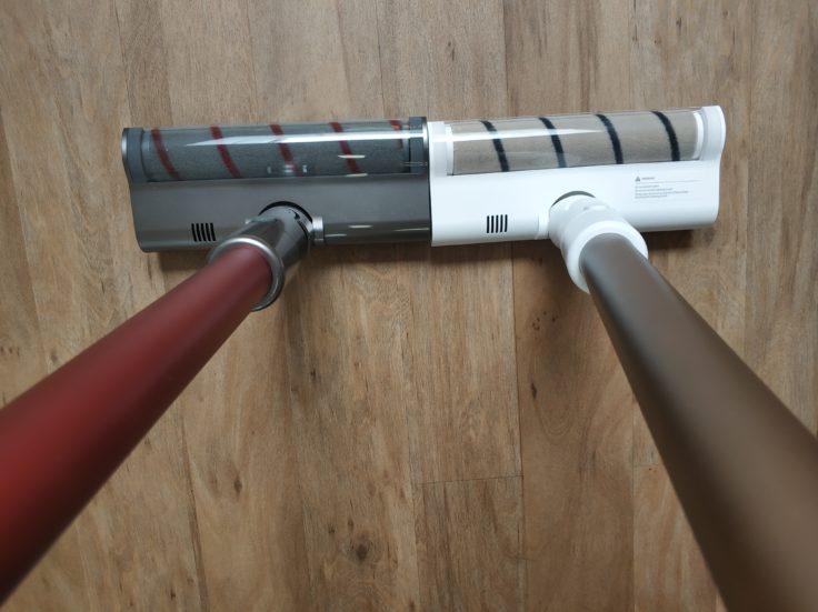 Dreame V10 Pro Akkustaubsauger Vergleich Bodenwalze