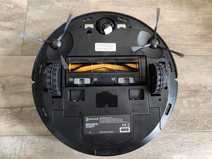 Ecovacs Deebot Ozmo T8 Saugroboter Unterseite