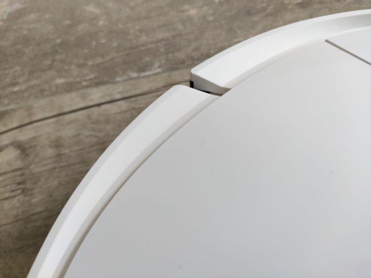 Ecovacs Deebot Ozmo T8 Saugroboter Verarbeitung Rand