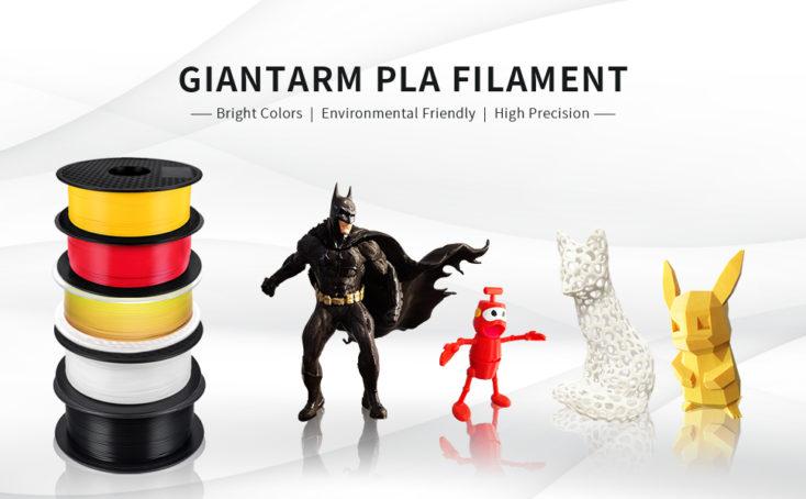 GIANTARM 1kg PLA Filament Drucke