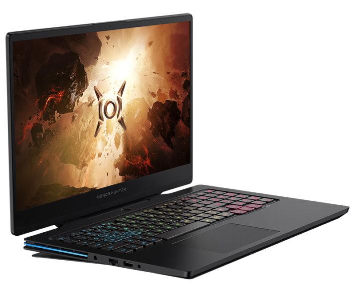 Honor Hunter V700 Laptop von der Seite