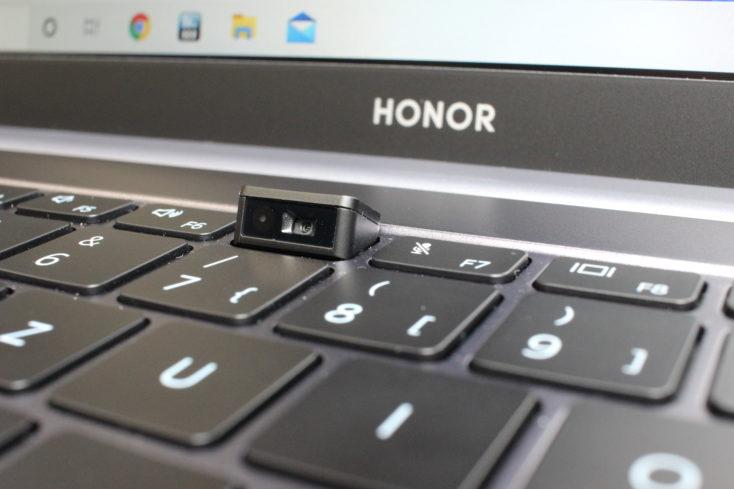 Honor MagicBook Pro Webcam