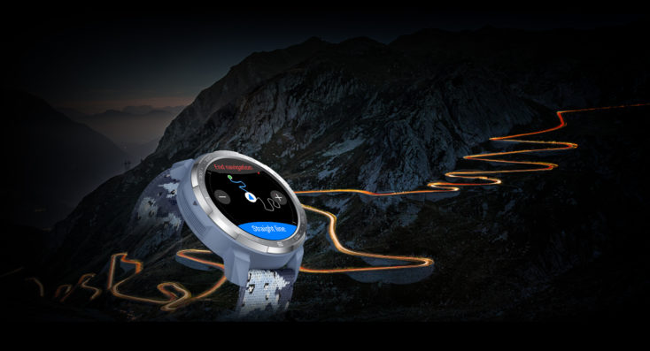 Honor Watch GS Pro Outdoor-Uhr Route Back Funktion