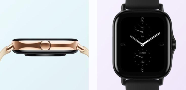 Huami Amazfit GTS 2 Smartwatch Design Seite