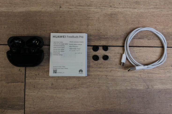 Huawei FreeBuds Pro Kopfhoerer Lieferumfang