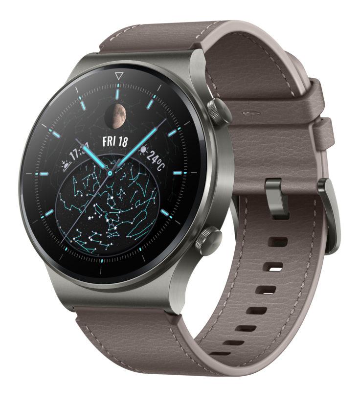 Huawei Watch GT 2 Pro Smartwatch Nebelgrau