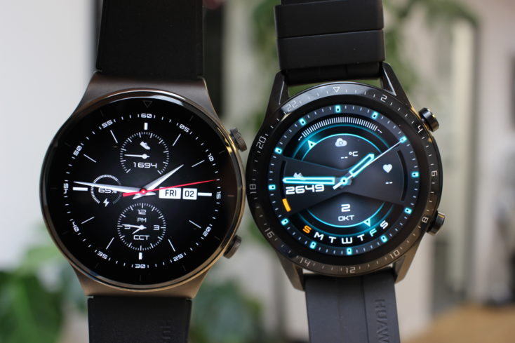 Huawei Watch GT 2 Pro vs Watch GT 2