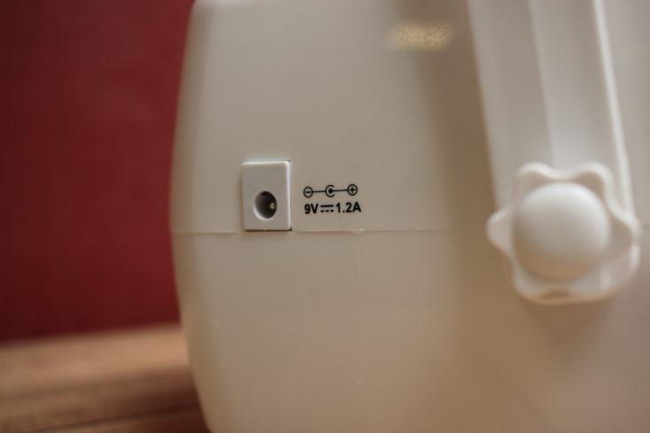 Seifenblasenmaschine Stromanschluss