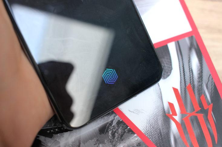 Nubia Red MAgic 5S Fingerabdrucksensor im Display