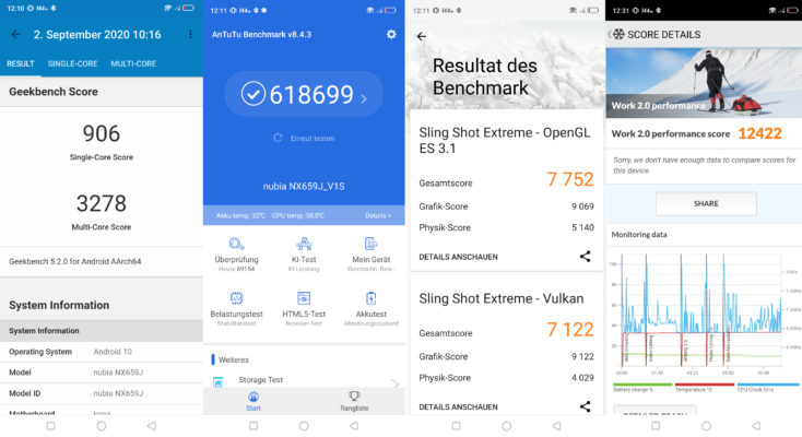 Nubia Red Magic 5S Benchmarks