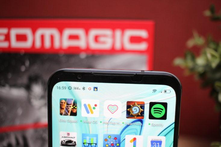 Nubia Red Magic 5S Bildschirmrand