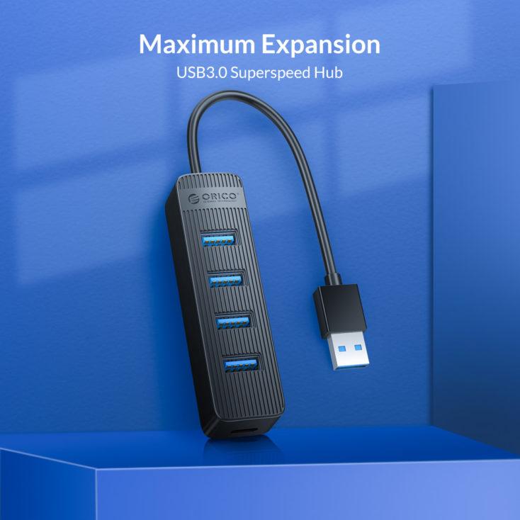 ORICO USB 3.0 Hub Design