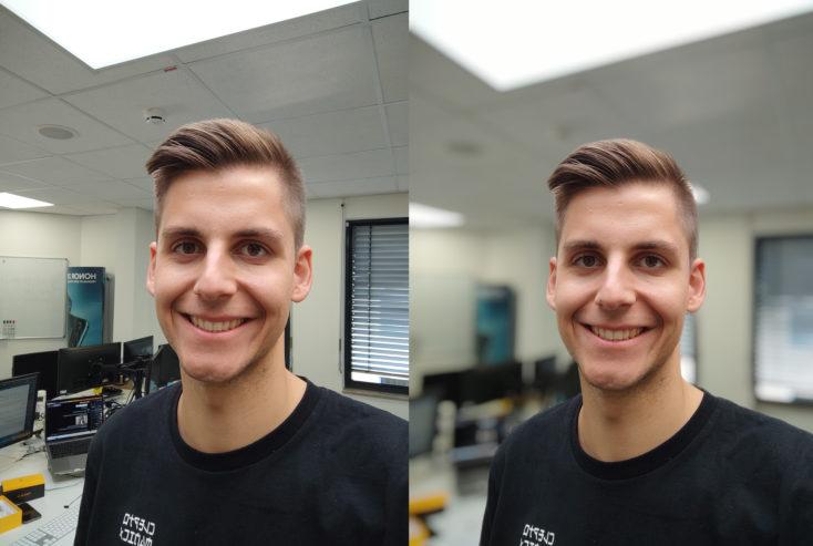 POCO X3 NFC Frontkamera Testfoto Portraitfotos