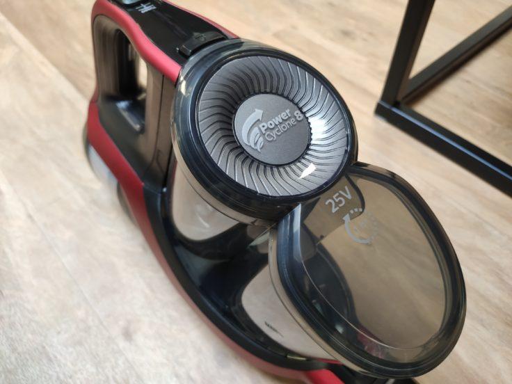 Philips XC7042 Speed Pro Max Akkustaubsauger Design