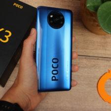 Poco X3 NFC Rueckseite