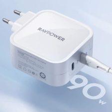 RAVPower 90W Ladegeraet Leistung