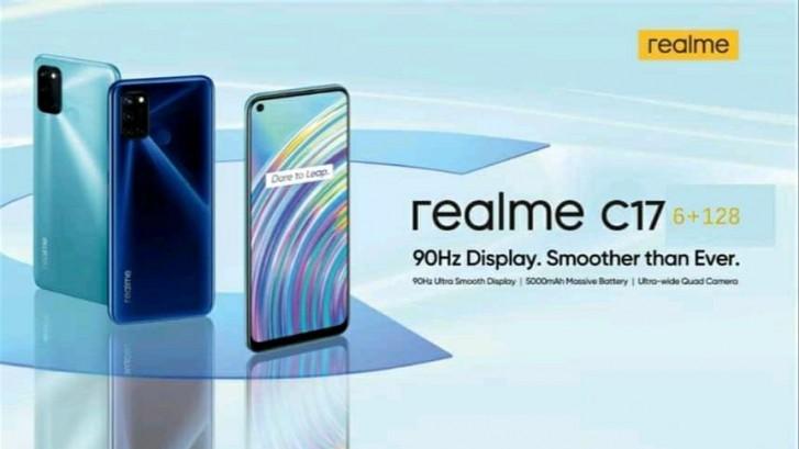 Realme C17 Smartphone Design