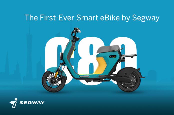 Segway Ninebot eMoped C80 blau