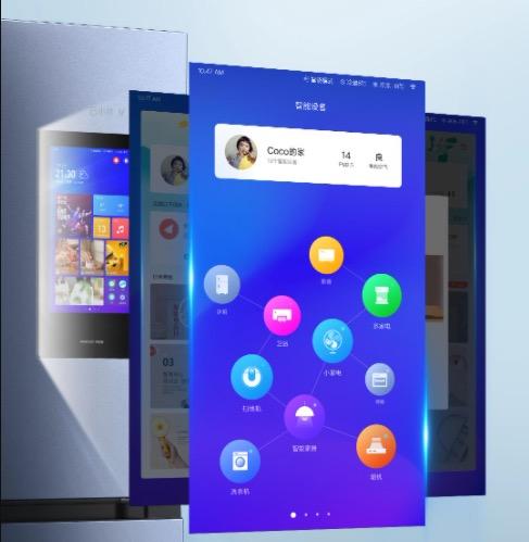 VIOMI Smart Kuehlschrank OS