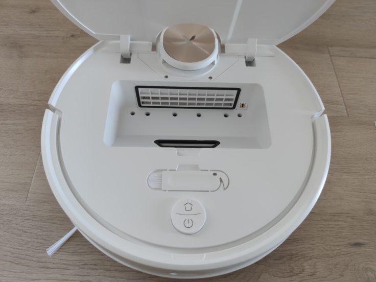 Viomi SE Pro Saugroboter Staubkammer