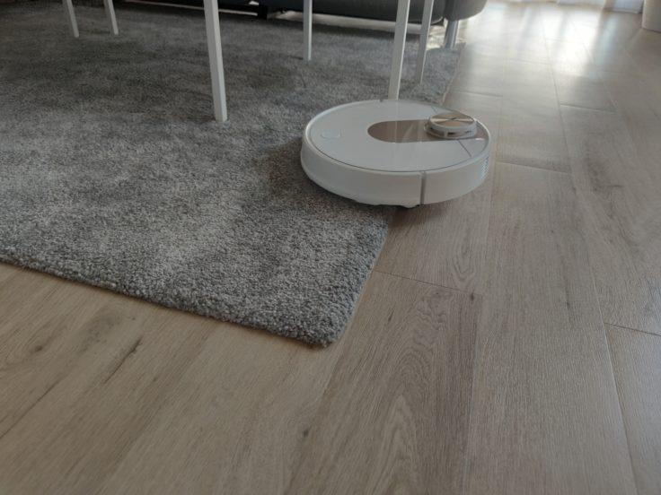 Viomi SE Pro Saugroboter Teppichkante