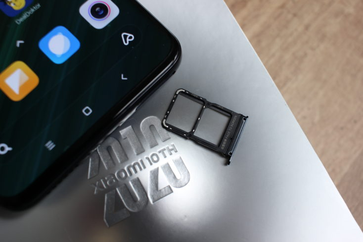 Xiaomi Mi 10 Ultra SIM-Karte